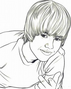 Are You A Massive Justin Bieber Fan And Looking For Coloring Pages Printable That Available