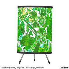 Illuminate your home with Tripod lamps from Zazzle. Choose from our pendant, tripod or table lamps. Find the right lamp for you today! Fall Days, Autumn Day, Tripod Lamp, Pendant Lamp, Table Lamp, Cottage, Lighting, Green, Blue