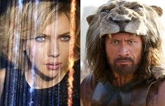 How Badly Will Scarlett Johansson's 'Lucy' Spank The Rock's 'Hercules' at Box Office?