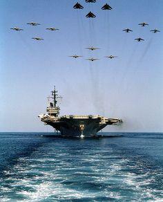 "Ronnie Bell's ""USS America CV-66"""