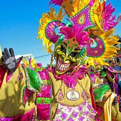 El mejor carnaval el de santo domingo republica dominicana