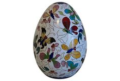 One Kings Lane - Butterfly Cloisonné Egg