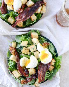 baby kale breakfast salad  howsweeteats.com