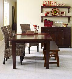 Pier 1  Kubu Hand-Woven Dining Chairs.
