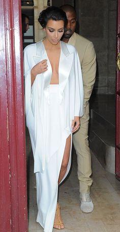Still can't get enough of this look /Kim Kardashian 2014 -Paris / dress / gown / bridal / fashion