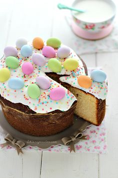 Casatiello dolce ricetta tradizionale - Chiarapassion Always Hungry, Easter Party, Easter Food, Party Drinks, Easter Recipes, Sweet Life, Biscotti, Easter Baskets, Gelato