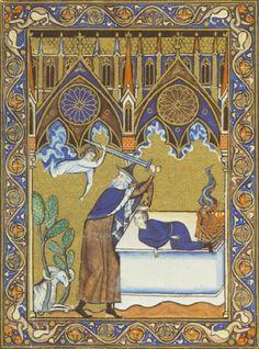 Psautier de Saint-Louis Paris, 1260-1270 Commanditaire: Louis IX de France (saint Louis, reg. 1226-1270) Enlumineurs: six miniaturistes du scriptorium du roi Louis Bibliothèque Nationale de France, Ms. Lat. 10525