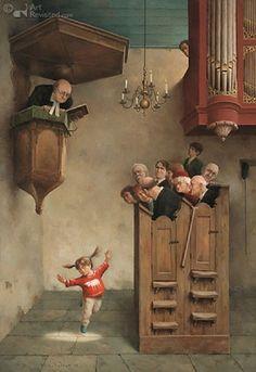 Marius van Dokkum - Danste in de kerk