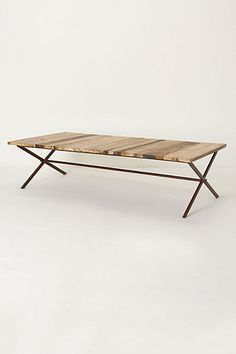 PLANK HOUSE COFFEE TABLE #anthrofave