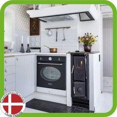 Josef Davidssons Viking 30 kitchen wood burning stove.