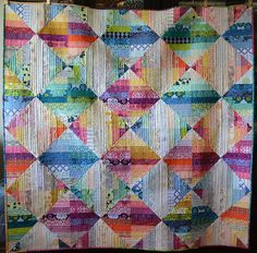Reflection - Ta Da! (via she can quilt: )