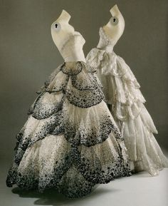 lavandula:    christian dior, venus and junon dresses, 1949-1950
