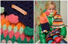 Myboshi sjaal uit Mutsen haken & Meer van Myboshi, gehaakt met Myboshi nr. 1
