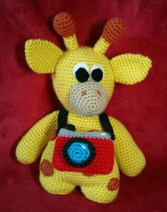 Kenny the Little Giraffe - One and Two Company crochet pattern