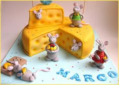 Dettaglio topini / Close-up Mice   I made this cake for the …   Flickr