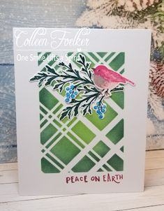September Challenge, Christmas Challenge, Starting A Garden, Bird Cards, Peace On Earth, Deck The Halls, Card Kit, Masking Tape, Special Guest