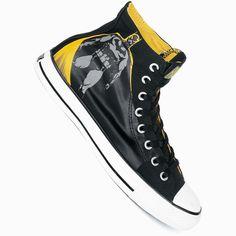 #batman Chuck Taylor AS Specialty Hi - black/yellow/grey von Converse