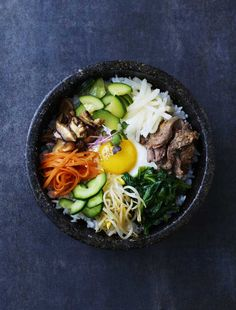 Packed full of vibrant vegetables and beautiful marinated beef strips, Korean rice, or Bibimbap is a complete meal. Read more