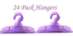 Brittany's 24 Pack Purple Hangers Compatible with American Girl Doll Clothes- 18 Inch Doll Clothes Hangers Doll Clothes Hangers, Girl Doll Clothes, Girl Dolls, Plastic Doll, Doc Mcstuffins, Cut Shirts, Brittany, American Girl, Things To Think About
