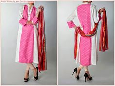 Zahra Shallwani Formal Collection 2014 | New Long Shirt Suits - FASHIONPAB | FASHIONPAB