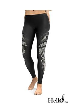 Designed with premium high quality material, Light-weight, flexible and move with you every step. Steampunk Leggings, Steampunk Armor, Ankle Length Leggings, Workout Leggings, Casual Wear, Custom Made, Must Haves, Compliments, How To Wear