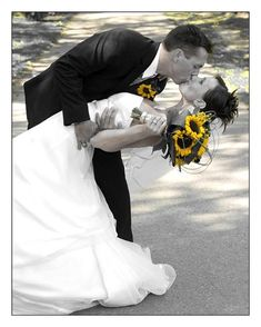 sunflowers are my favorite and I would love to have them in my wedding, but I'm not sure how to incorporate them.