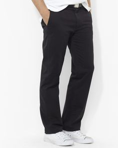 Polo Ralph Lauren Flat-Front Chino Pants - Classic Fit  Earn when you shop and share on haveyouseen.com!