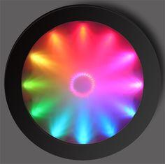 colour wheel LED fluro