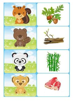 Kto co zjada Educational Games For Kids, Toddler Learning Activities, Brain Activities, Montessori Activities, Infant Activities, Kids Learning, Preschool Activity Books, Free Preschool, Preschool Worksheets