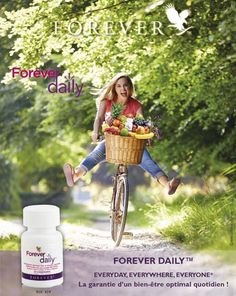les bienfaits de forever daily. Forever Aloe, My Forever, Aloe Vera, Clean 9, Rainbow Crafts, Forever Living Products, Beauty Care, Benefit, Nutrition