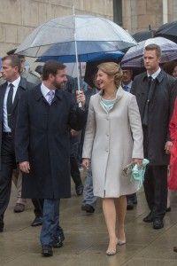 Наследный Великий Герцог Люксембурга Гий, наследная Великая Герцогиня Люксембурга