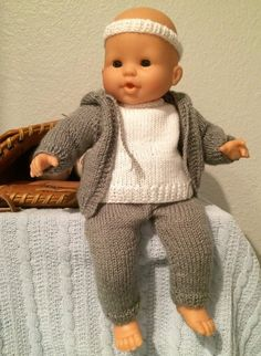 """Yellow Hooded Cardigan Sweater for 15/"""" Doll"""