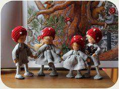 Enfants de la forêt. Réservés à Elizabeth. par Revesdepoupees