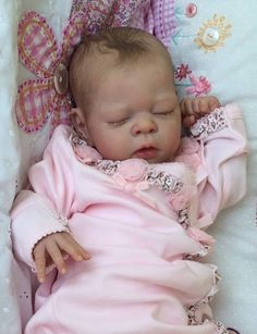 Reborn Baby Girl Molly  Can't believe she is a doll. Description from pinterest.com. I searched for this on bing.com/images