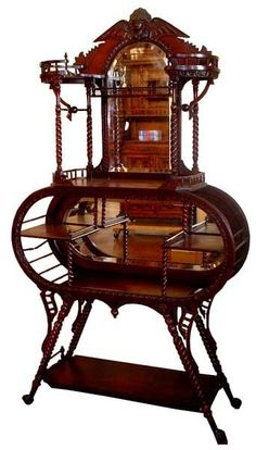 Antique 19th C. Victorian American Etagere