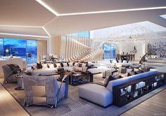 salón sofás grandes y butacas cómodos