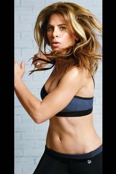 Jillian Michaels in her activewear for Kmart. [Courtesy Photo]