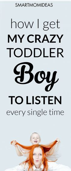 Trying to get your toddler to listen? Parenting tips to help your children listen is golden right? Here is the one thing I do to make sure my boy listens to what I tell him every time. It works. Click over to learn this simple and easy listening tip.