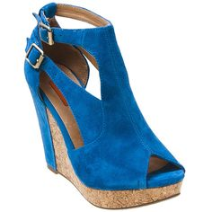Kylene Open-Toe Wedge Shoe by Miz Mooz