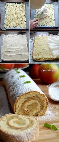 Coffee Cake, Vanilla Cake, Food And Drink, Cooking Recipes, Sweet, Ethnic Recipes, Cake Rolls, Apples, Blog