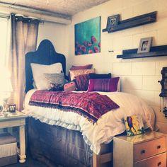 Shelves + Bedding