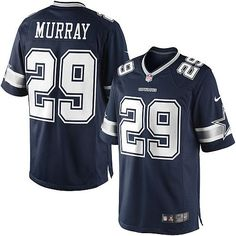71c24729b NFL Men s Nike Dallas Cowboys  29 DeMarco Murray Limited Navy Blue Team  Color Jersey  89.99