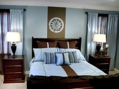 To give a room a cohesive feel, try staining all the furniture the same color.