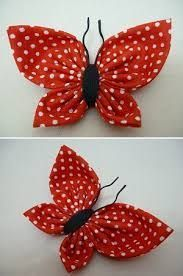 Diy Arts And Crafts Hobbies And Crafts Diy Crafts Wool Applique Applique Patterns Fabric Flowers Diy Flowers Crochet Flowers Craft Sale Fabric Flower Pins, Fabric Butterfly, Fabric Flower Tutorial, Butterfly Crafts, Fabric Ribbon, Fabric Crafts, Sewing Crafts, Sewing Projects, Cloth Flowers