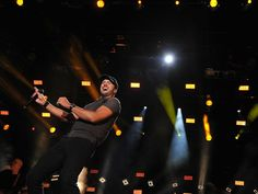 Luke Bryan performs onstage during the CMA Music Festival