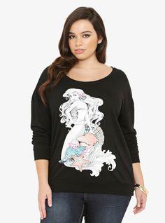 ac52e0a7ed2 Disney Ariel Seashell Sweatshirt