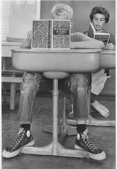 +~+~ Vintage Photograph ~+~+   From the looks of this boys pants and shoes, he's growing by the minute!  Super photo! 1958 Photojournalist Wayne F. Miller.