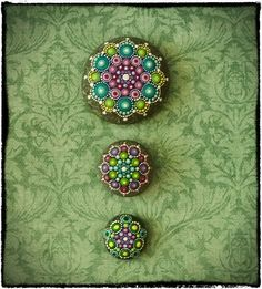 The Beautiful Hand-Painted Stones of Elspeth McLean