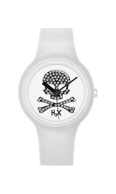 H2X ONE LADY: Orologio da polso da donna con movimento al quarzo analogico e cassa in silicone water resistant. Disponibile anche in bianco/argento :)