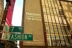 Uptown Parson School of Design. I had my Fashion Marketing classes there and a work study job in the Continuing Education Dept.